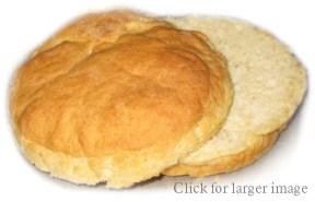 Gluten Free Big Hamburger Buns